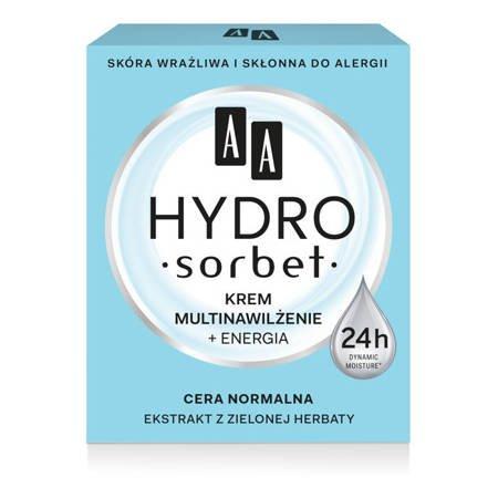 AA Hydro Sorbet krem multinawilżenie cera normalna