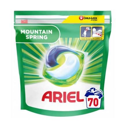 Ariel ALLin1 Moutain Spring Kapsułki Do Prania 70szt.