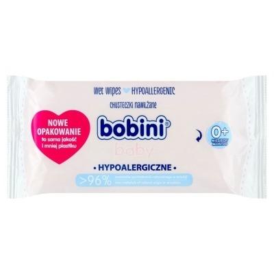 Bobini Baby Chusteczki nawilżane hypoalergiczne 60szt.