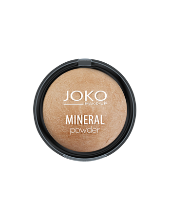 JOKO MINERAL Mineralny puder wypiekany LIGHT BRONZE 05